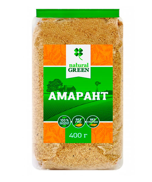 Амарант Natural Green, 400г